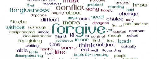 The Power and Presence of Forgiveness: Letting Go