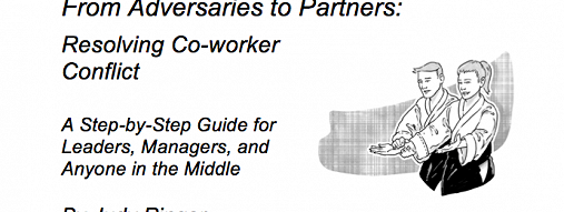 From Adversaries to Partners: Resolving Co-worker Conflict